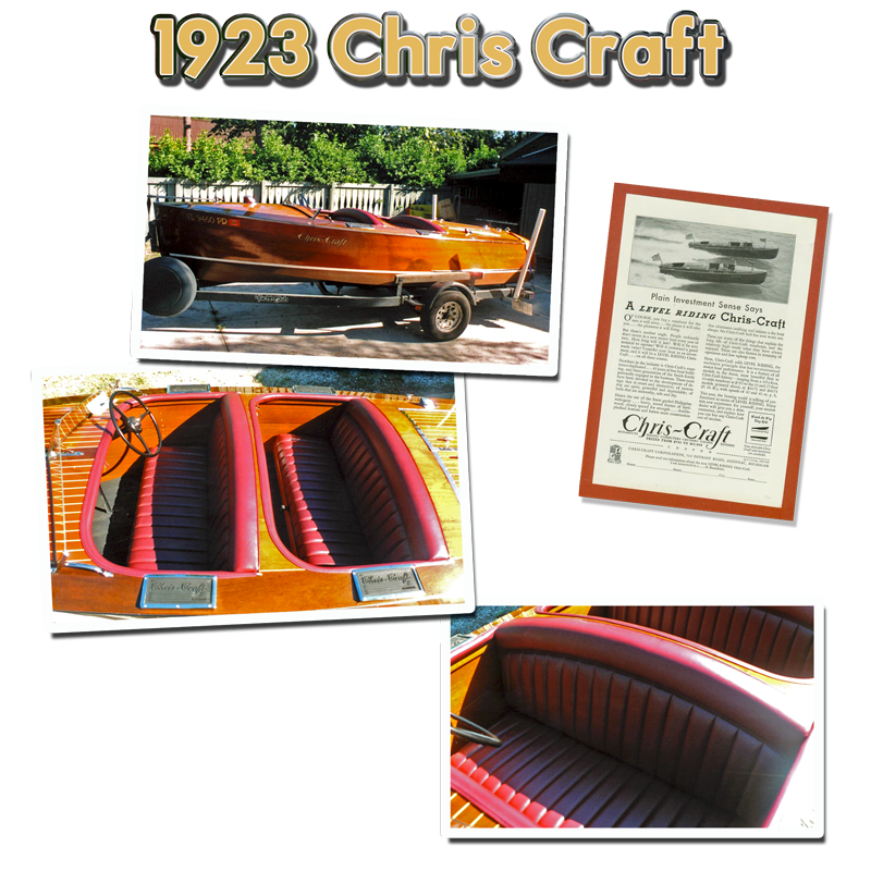 Chris Craft Upholstery